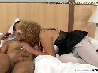 sexy french maid effie finds sleeping beauty boy