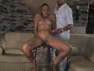 pretty slave girl forced to orgasm