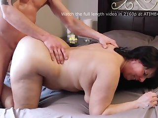 lucky young bloke smothered by sexy bbw