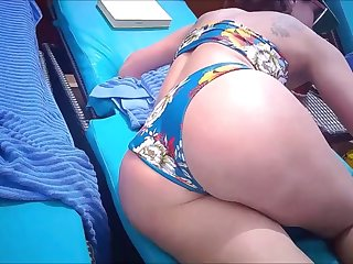 wife's pawg ass on cruise (hidden watch cam)
