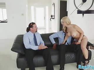 astonishing milf slammed by bbc in cuckold
