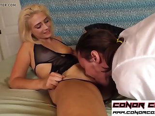 conorcoxxx-goddess aubrey owns you and makes you watch her f