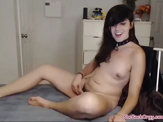 hairy young tgirl